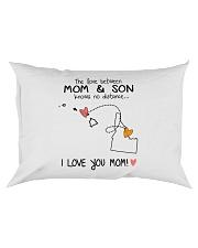 11 12 HI ID Hawaii Idaho PMS6 Mom Son Rectangular Pillowcase tile