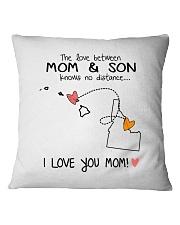11 12 HI ID Hawaii Idaho PMS6 Mom Son Square Pillowcase tile