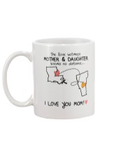 18 45 LA VT Louisiana Vermont mother daughter D1 Mug back