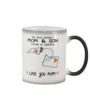33 37 NC OR North Carolina Oregon PMS6 Mom Son Color Changing Mug thumbnail