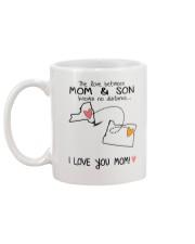 32 37 NY OR New York Oregon Mom and Son D1 Mug back