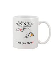 33 46 NC VA North Carolina Virginia Mom and Son D1 Mug front