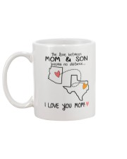 03 43 AZ TX Arizona Texas Mom and Son D1 Mug back