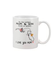 20 05 MD CA Maryland California Mom and Son D1 Mug front