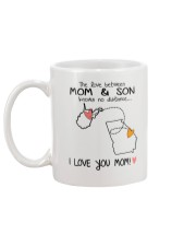 48 10 WV GA West Virginia Georgia PMS6 Mom Son Mug back