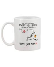 36 32 OK NY Oklahoma New York Mom and Son D1 Mug back