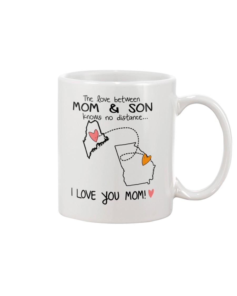 19 10 ME GA Maine Georgia Mom and Son D1 Mug