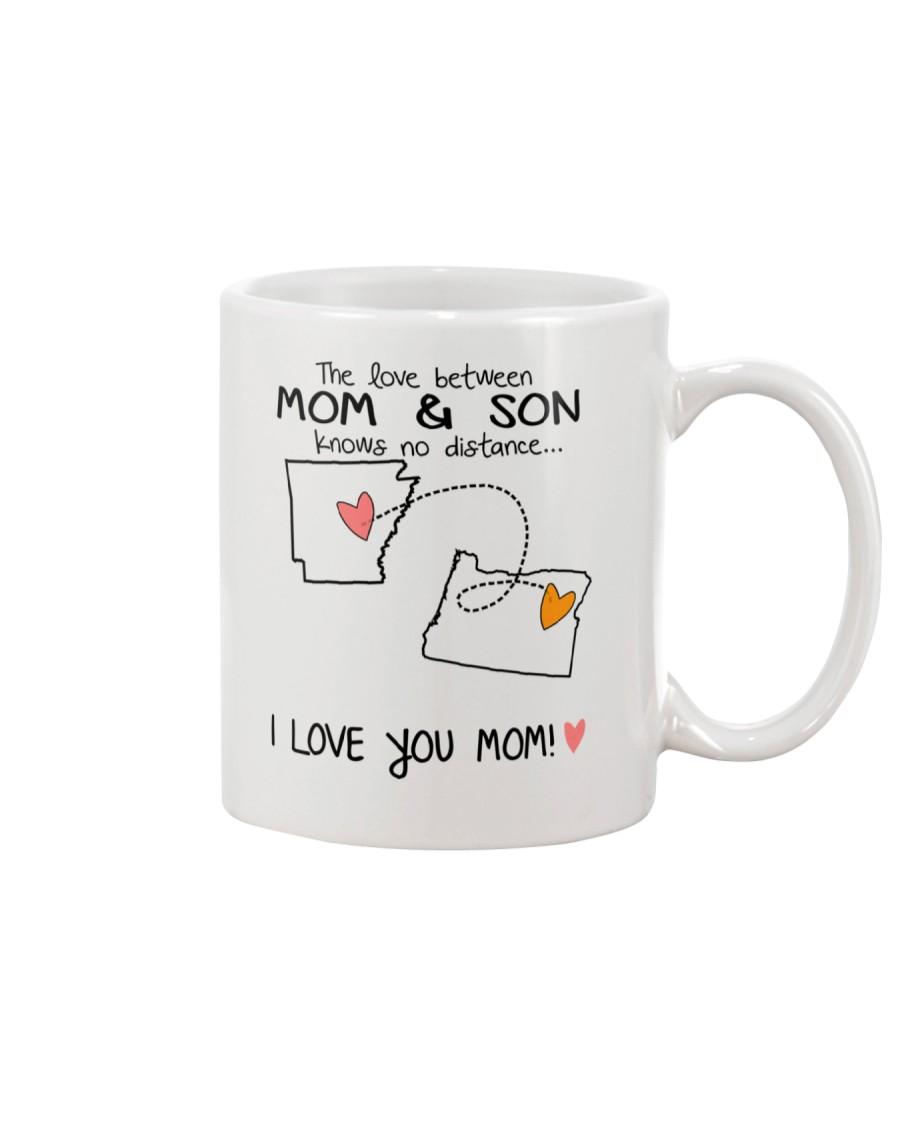 04 37 AR OR Arkansas Oregon Mom and Son D1 Mug