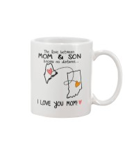19 14 ME IN Maine Indiana Mom and Son D1 Mug front