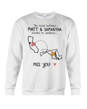 Matt and Samantha Crewneck Sweatshirt thumbnail