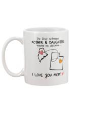 19 44 ME UT Maine Utah mother daughter D1 Mug back