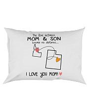 12 44 ID UT Idaho Utah PMS6 Mom Son Rectangular Pillowcase tile