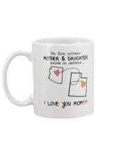 03 44 AZ UT Arizona Utah mother daughter D1 Mug back