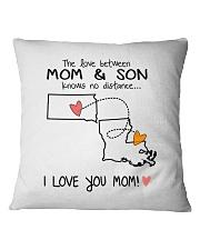 41 18 SD LA South Dakota Louisiana PMS6 Mom Son Square Pillowcase thumbnail