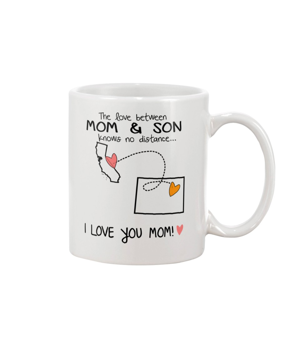 05 06 CA CO California Colorado Mom and Son D1 Mug