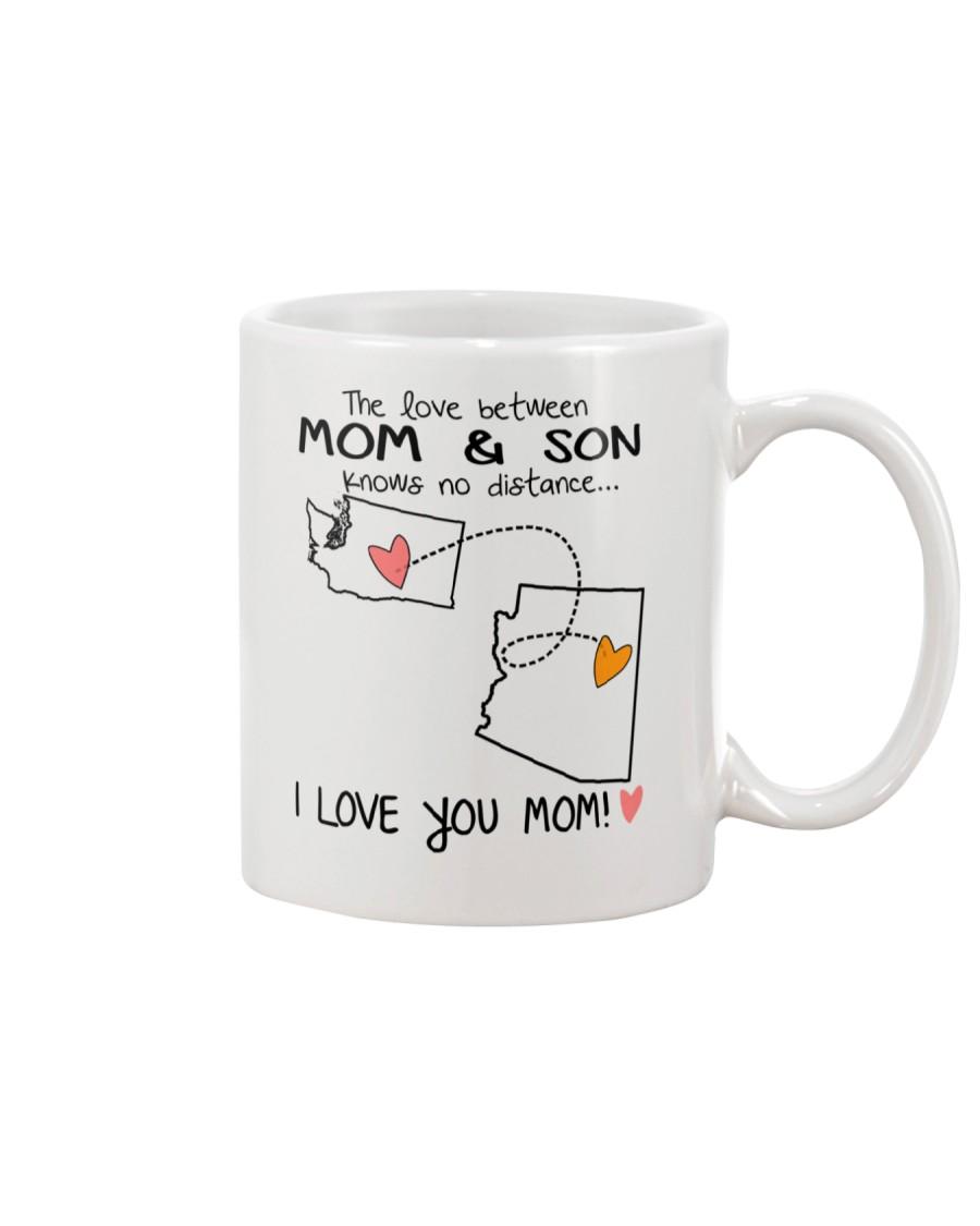 47 03 WA AZ Washington Arizona B1 Mother Son Mug Mug