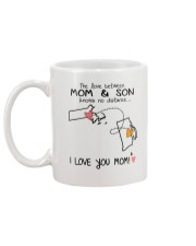 21 39 MA RI Massachusetts Rhode Island Mom and Son Mug back