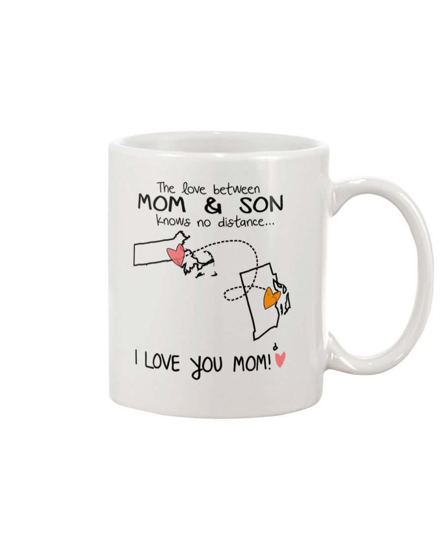 21 39 MA RI Massachusetts Rhode Island Mom and Son Mug