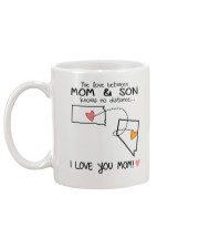 41 28 SD NV South Dakota Nevada Mom and Son D1 Mug back