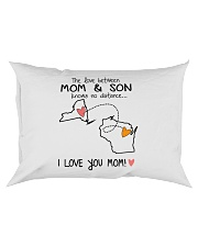 32 49 NY WI New York Wisconsin PMS6 Mom Son Rectangular Pillowcase thumbnail