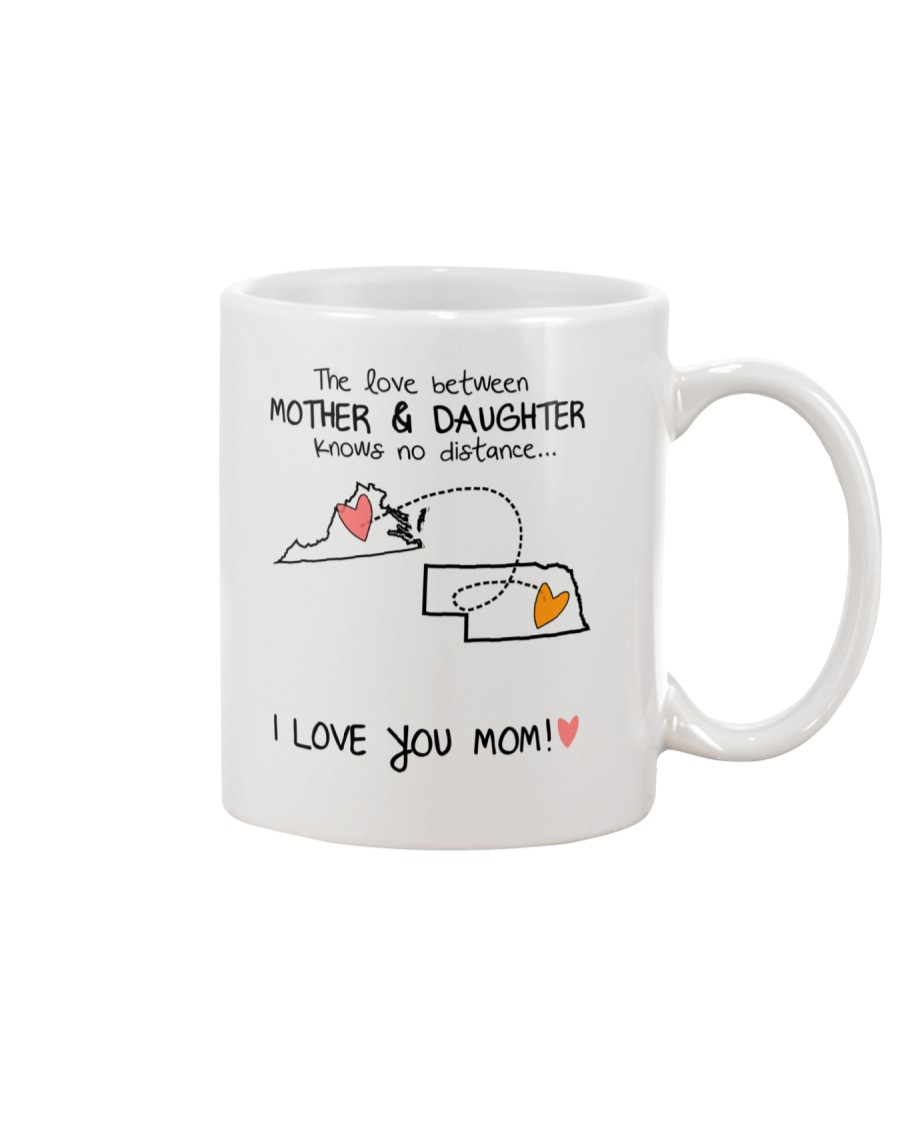 46 27 VA NE Virginia Nebraska mother daughter D1 Mug