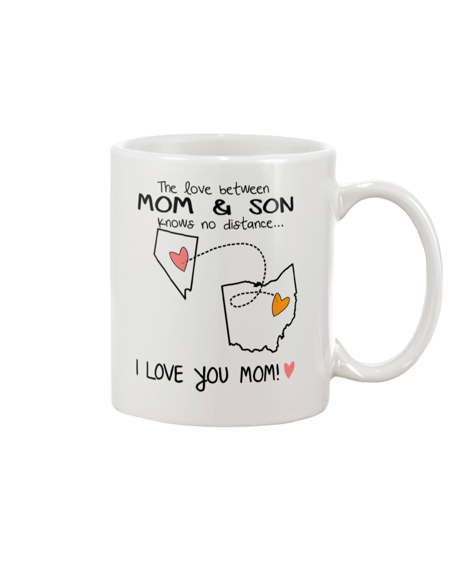 28 35 NV OH Nevada Ohio B1 Mother Son Mug Mug