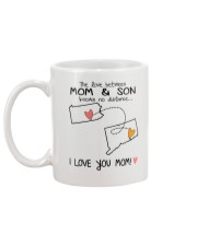 38 07 PA CT Pennsylvania Connecticut PMS6 Mom Son Mug back