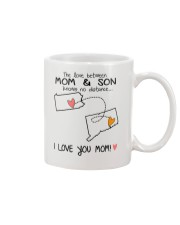 38 07 PA CT Pennsylvania Connecticut PMS6 Mom Son Mug front
