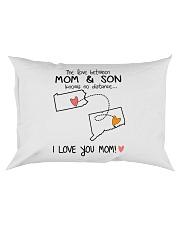 38 07 PA CT Pennsylvania Connecticut PMS6 Mom Son Rectangular Pillowcase tile