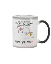 10 34 GA ND Georgia North Dakota Mom and Son D1 Color Changing Mug thumbnail