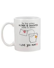 37 04 OR AR Oregon Arkansas mother daughter D1 Mug back