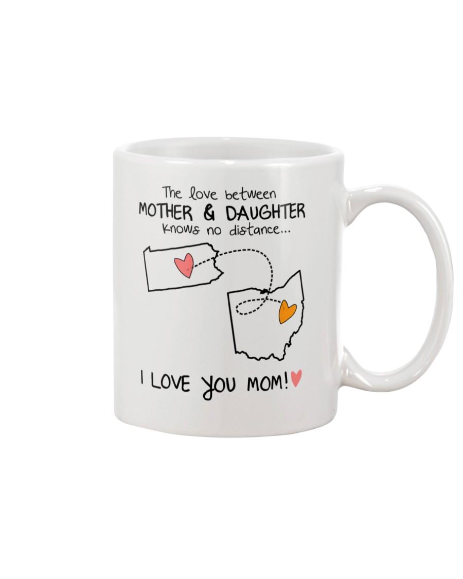 38 35 PA OH Pennsylvania Ohio mother daughter D1 Mug