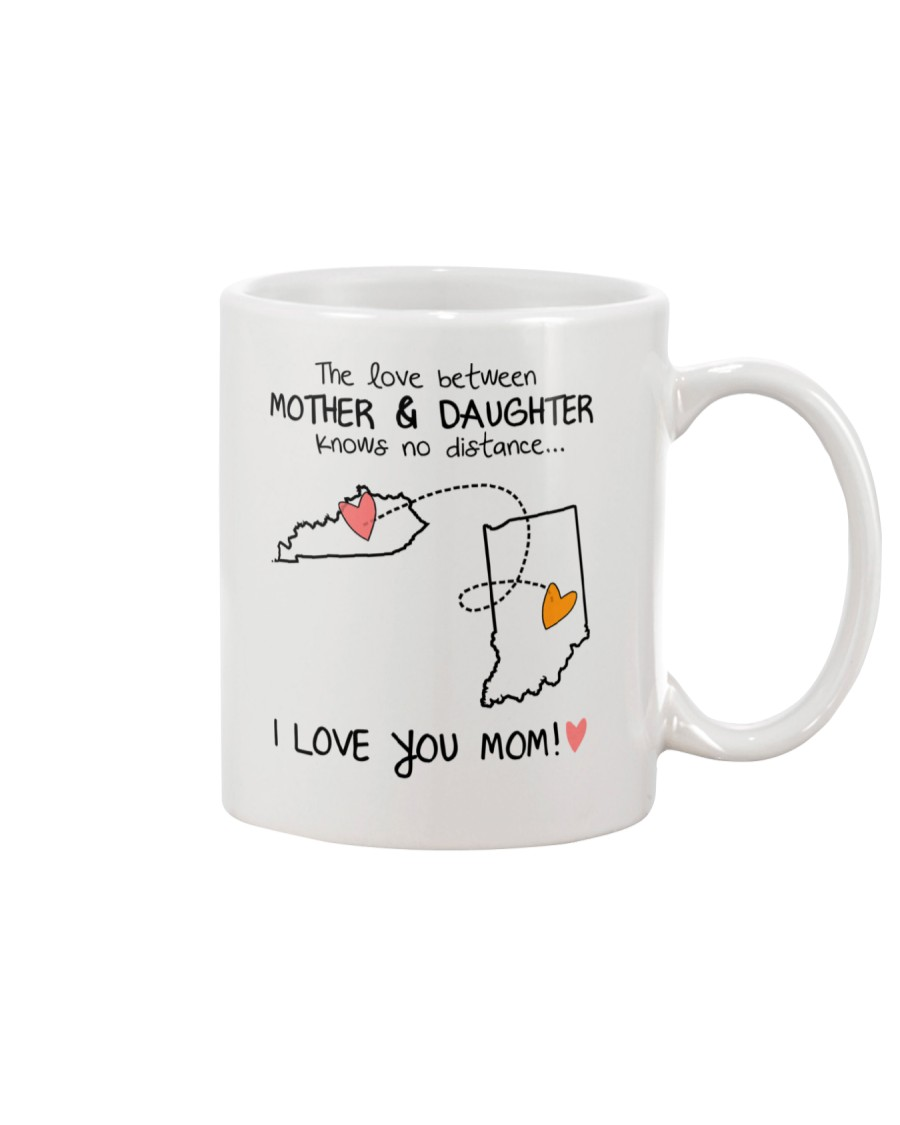 17 14 KY IN Kentucky Indiana mother daughter D1 Mug