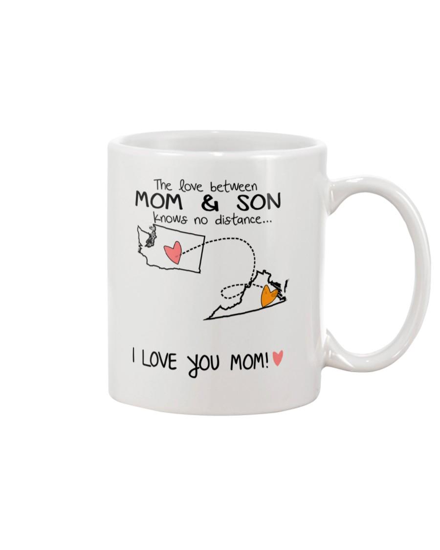 47 46 WA VA Washington Virginia Mom and Son D1 Mug