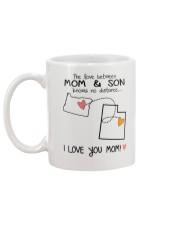 37 44 OR UT Oregon Utah Mom and Son D1 Mug back