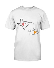 43 38 TX PA Texas Pennsylvania Classic T-Shirt tile