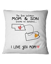 27 38 NE PA Nebraska Pennsylvania PMS6 Mom Son Square Pillowcase thumbnail