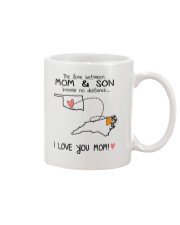 36 33 OK NC Oklahoma North Carolina Mom and Son D1 Mug front