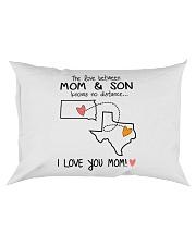 41 43 SD TX South Dakota Texas PMS6 Mom Son Rectangular Pillowcase thumbnail
