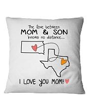 41 43 SD TX South Dakota Texas PMS6 Mom Son Square Pillowcase thumbnail
