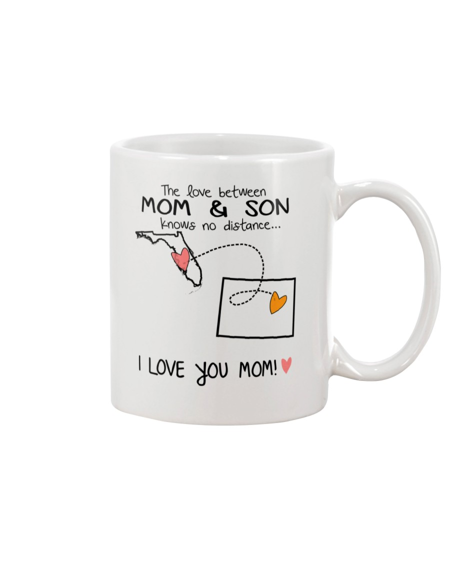 09 50 FL WY Florida Wyoming Mom and Son D1 Mug