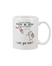 09 39 FL RI Florida Rhode Island Mom and Son D1 Mug front
