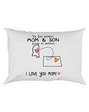 24 34 MS ND Mississippi North Dakota PMS6 Mom Son Rectangular Pillowcase tile