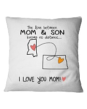 24 34 MS ND Mississippi North Dakota PMS6 Mom Son Square Pillowcase thumbnail