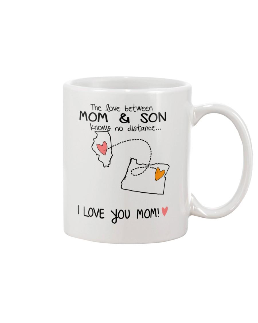 13 37 IL OR Illinois Oregon Mom and Son D1 Mug