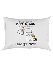 03 18 AZ LA Arizona Louisiana PMS6 Mom Son Rectangular Pillowcase tile