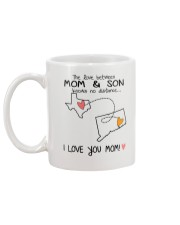 43 07 TX CT Texas Connecticut Mom and Son D1 Mug back