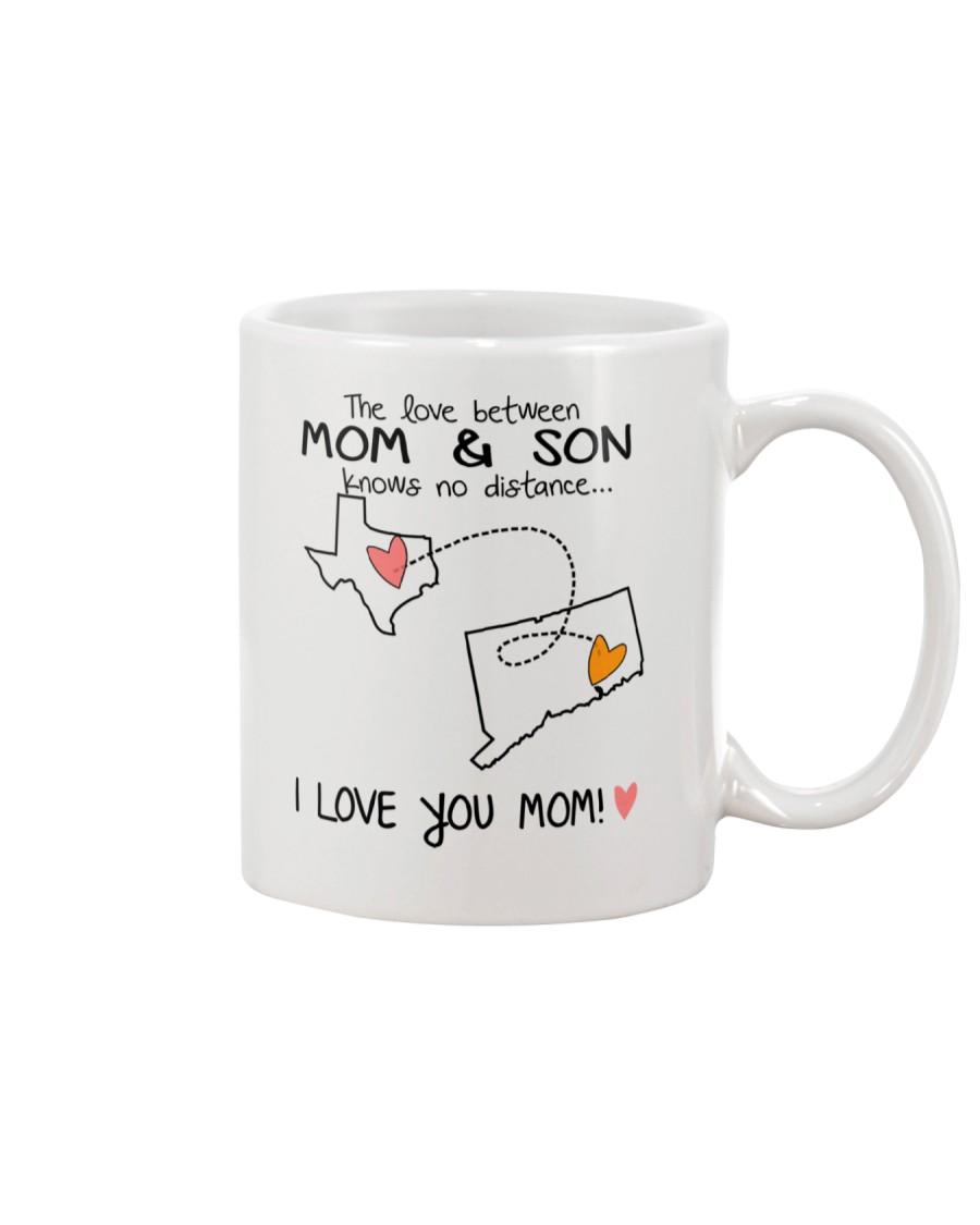43 07 TX CT Texas Connecticut Mom and Son D1 Mug