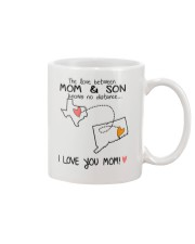 43 07 TX CT Texas Connecticut Mom and Son D1 Mug front