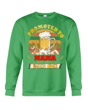 Promoted to Nana est 2020 Beer me Crewneck Sweatshirt thumbnail